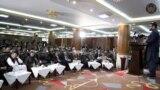 کابل کې او ثبات' کنفرانس ته د افغانستان د ملي امنیت سلاکار حمدالله محب وینا