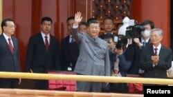 Кытайдын лидери Си Цзинпин. Бээжин.1-июль, 2021-жыл