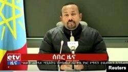 Це перший інцидент із масштабними загиблими цивільними у конфлікті, який почався між партією «Народний визвольний фронт Тиграю» (TPLF) та урядом прем'єр-міністра Абія Ахмеда (на фото)