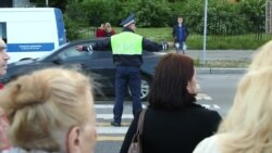 В Петербурге протестуют жители микрорайона Ульянка