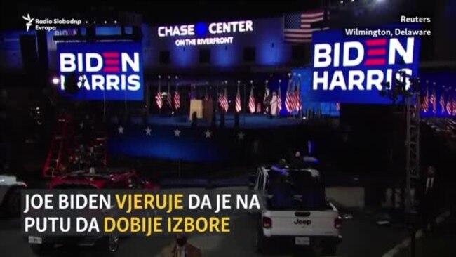 Biden: Na dobrom smo putu; Trump: Pokušavaju ukrasti izbore
