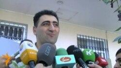Ramil Səfərov Bakıda
