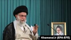 İranın Ali dini lideri Əli Xamenei, Tehran, 16 iyun 2021