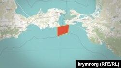 Зона перекрытия Керченского пролива с 21 апреля по 31 октября 2021 года