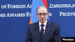 Армениянын тышкы иштер министри Ара Айвазян. 26-апрель, 2021-жыл.