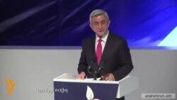 Սերժ Սարգսյանի ելույթը Գյումրիում