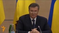"Янукович: ""Мени ҳеч ким ҳокимиятдан ағдаргани йўқ"""