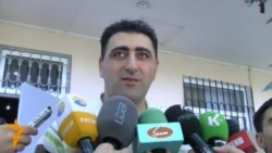 Ramil Safarov Welcomed In Baku (in Azerbaijani)
