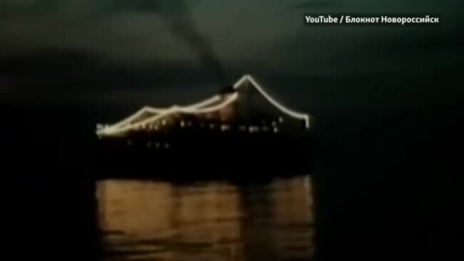 Крушение  Адмирала Нахимова