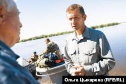 Дмитрий Кришкевич на езерото Гаси