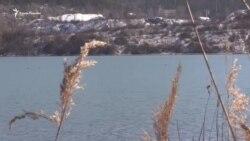 В Симферополе переполнено водохранилище. Начат спуск воды (видео)