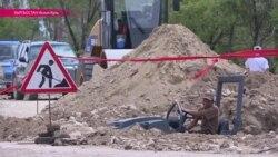Игры кочевников лишили жителей Иссык-Куля дороги