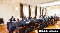 Архива - Скопје- состанок на заедничката македонско-бугарска комисија за историски и образовни прашања, 16.10.2020