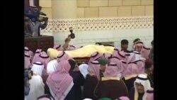 Kral Abdullanın dəfn mərasimi