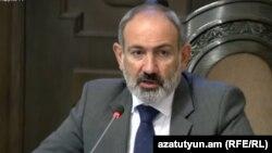 Nikol Paşinyan 15 iyul hökumət müşavirəsində