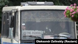 Girov götürülmüş avtobus
