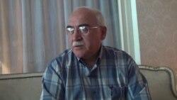 Milli Şuranın Tbilisi iclasının ikinci günü - İsa Qəmbər jurnalistlərin suallarını cavablandırır