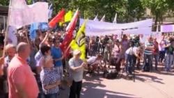 Učitelji i nastavnici protestovali u Beogradu