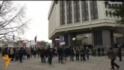 Krım parlamentində Rusiya ilə birləşmək qərarı çıxarıldı