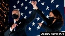 ԱՄՆ - Դեմոկրատական կուսակցությունից նախագահի թեկնածու Ջոզեֆ Բայդեն և փոխնախագահի թեկնածու Քամալա Հարիս, Ուիլիմինգթոն, Դելավեր նահանգ, 20-ը օգոստոսի, 2020թ.