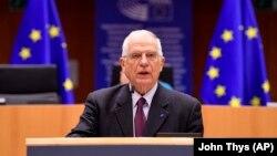 Глава внешнеполитического ведомства ЕС Жозеп Боррель.
