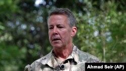 Generalul american Austin S. Miller, comandantul trupelor din Afganisan, Kabul, 29 iunie 2021.
