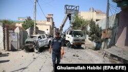 Atac cu bombă în Jalalabad, 29 aprilie 2021