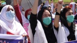 Nurses In Northwest Pakistan Protest For Better Work Conditions