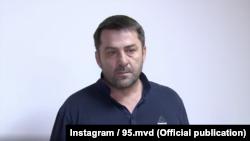 Алихан Дудаев, скриншот из видео из аккаунта МВД по Чечне в инстаграме