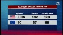 2,5 года после аннексии Крыма: действуют ли санкции?
