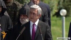 Սերժ Սարգսյան․ «Նոր Սարդարապատ չի լինելու, որովհետև կա պետություն»