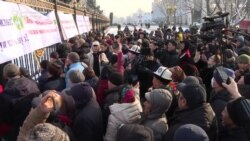 Kyrgyz Protesters Demand Better Security Along Tajik Border