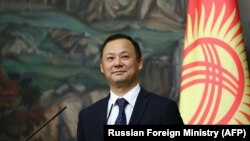 Руслан Казакбаев, тышкы иштер министри.