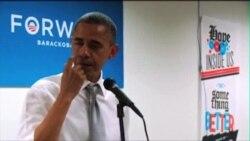 Obamine suze prilikom obraćanja volonterima kampanje