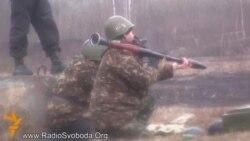 Пачалася баявая падрыхтоўка добраахвотнікаў Нацыянальнай Гвардыі Ўкраіны