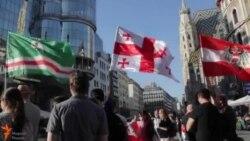 Оьрсийчоьнан девне тIеман политикана дуьхьал митинг хилла Венехь