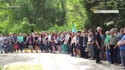 Депортація кримських татар. Хвилина мовчання в Керчі (відео)