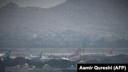 Аэропорт в столице Афганистана Кабуле, 31 августа 2021 года (иллюстративное фото)