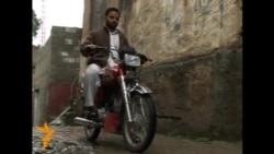 Gözdən əlil motosikletçi