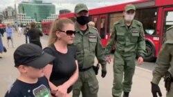 На акции солидарности с Хабаровском в Казани задержали 6 человек