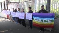 Protest aktivista u Beogradu zbog ubistva Elene Grigorijeve