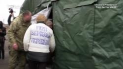 Razmena zarobljenika na istoku Ukrajine