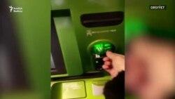 Orsýetde türkmen bankynyň karty bilen bankomatdan pul çekip bolanok