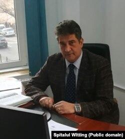 Sorin Cristian Banu, manager Spitalul CF Witting