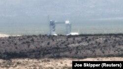 A New Shepard kilövőállomása Texas állam nyugati részén 2021. július 19-én