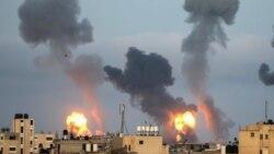 Ysraýyl Gaza howa zarbasyny urdy, söweşijiler raketa hüjümini amala aşyrdy
