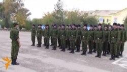 """Сарбозони """"дипломдор""""-и артиши Тоҷикистон"""