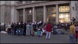 Budapest: Migrantët kaluan natën jashtë