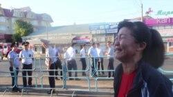 При сносе киосков в Шымкенте задержано несколько человек