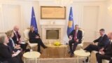 EU Foreign-Policy Chief Meets With Kosovo Leaders